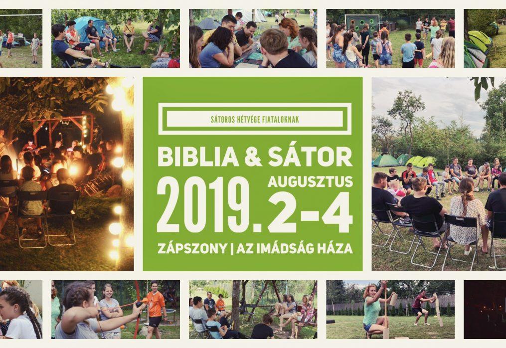 Biblia & sátor 2019-ben
