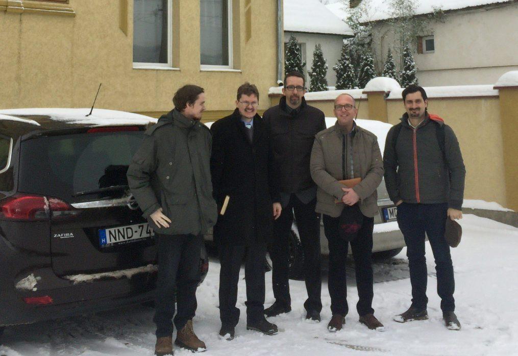 Teológushallgatók látogatása Kárpátalján