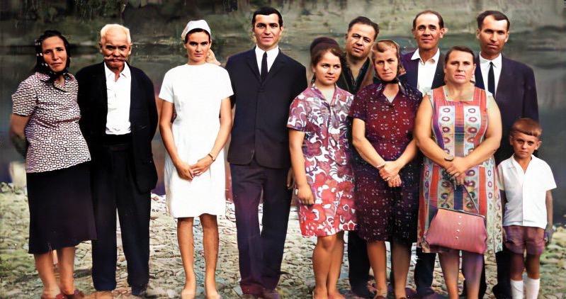 Bemerítés Munkácson a Latorcánál 1971-ben