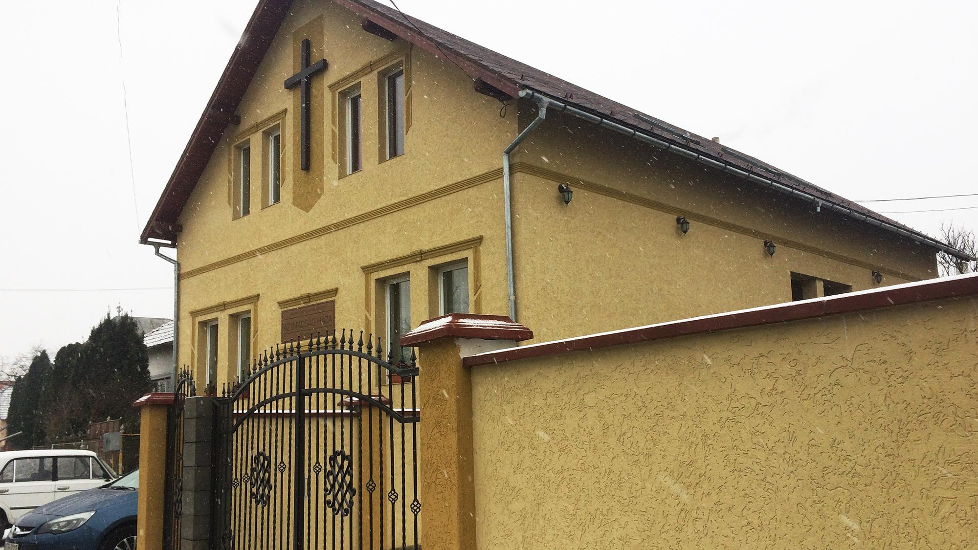 A Zápszonyi magyar baptista közösség imaháza