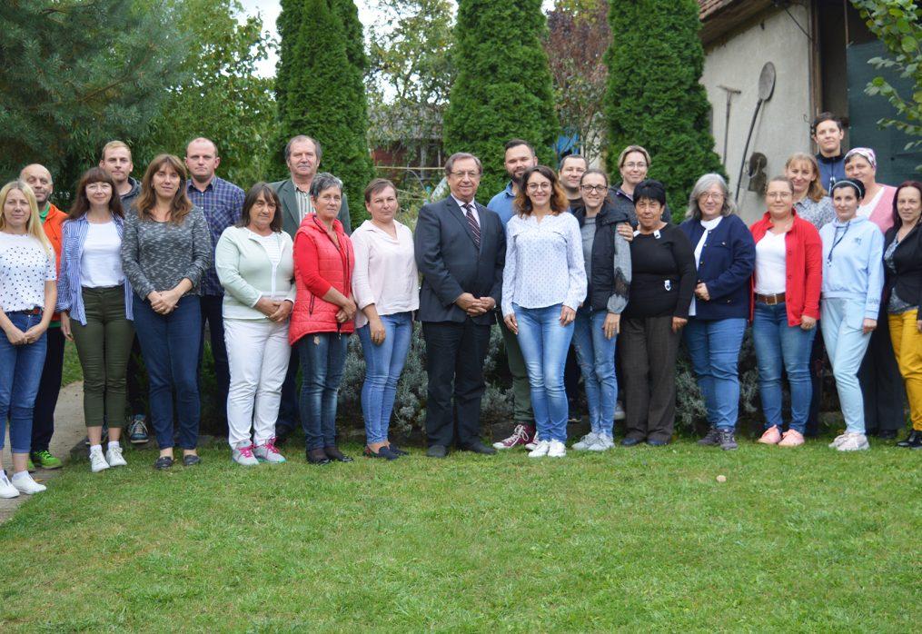 A 2021/22-es tanév első fakultatív konzultációja Zápszonyban